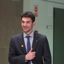 Alberto Martí defended his doctoral thesis